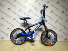 new model freestyle BMX 16 inch kids bike bicycle MSD-B113 tyre with flame