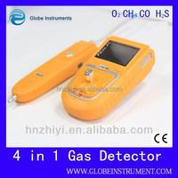 portable gas analyzer (O2, EX, CO, H2S, H2)