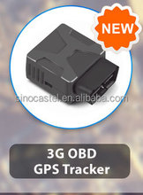 Intelligent 3G OBDII Gps Tracker with iOS& Android APP and google map software for J1939/1708 truck gps tracking