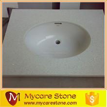 Cut to size countertop vanity tops quartz bathroom countertop