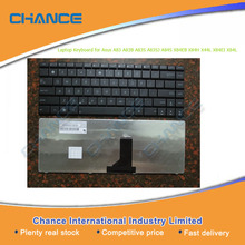 Factory Outlet laptop keyboard for Asus A83 A83B A83S A83SJ A84S X84EB X84H X44L X84EI X84L, wholesale laptop keyboard for US