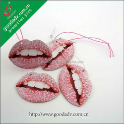 2015 Factory direct sale 100% non-toxic hanging sexy cheap car air freshener