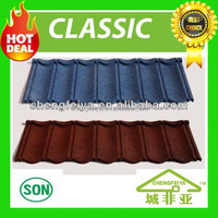top grade high quality sand coated metal roof tile
