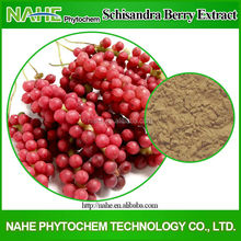 9% Schizandrin High Quality Herb Powder Schizandra Berries Extract Powder