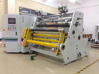 Jumbo roll tape/paper/film/lable slitting rewinder machine with high quality
