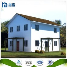 Two Floor steel structure fast building prefab homes for fiji