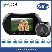Smart home WIFI wireless video door phone,door peephole viewer home protection usage GSM alarm system