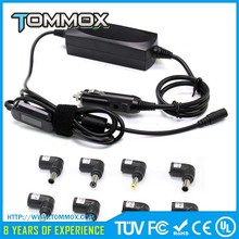 90W Universal Car DC Power Adapter/Charger for laptop with 10 pins