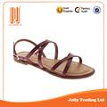venda quente de boa qualidade confortável sandália novo modelo de calçados
