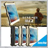 For Apple iPad Mini 4 Case Cover, For iPad Mini 4 Love Mei Case, Tire Pattern Hybrid Case For iPad Mini 4