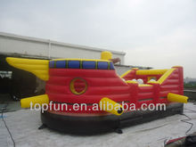 2014 inflatable castle for adult inflatable ship