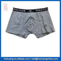 New Style Gray Cotton Comfortable Trunk Underwear Mex Boxer 047