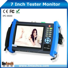 Multi-functional 7 Inch Touch Screen CCTV Tester Monitor Cable Audio CCTV Camera Tester