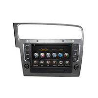 Pure Android 8 Inch Digital Touch Screen With 3G Bluetooth Radio SWC Supported GPS Navigation For Golf 7