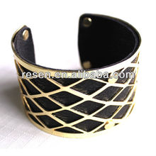 New products Vogue costume female alloy leather bracelet jewellery korea fashion accessory,bracelet