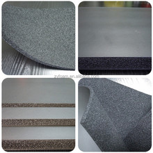 open cell/closed cell heat resistant NBR foam board