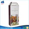 Wine bottle packaging box