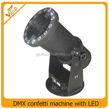 stage wedding electric confetti machine, DMX confetti machine for stage