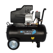2hp portable piston air compressor with handle CE GS