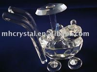 crystal baby carriage MH-D0205