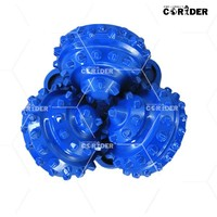 """high quality drill power tools 8 1/2"""" carbide tricone bits for water well drilling/ hard rocks TCI three cone bits"""