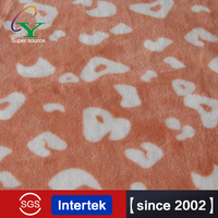 2015 China supplier Hot item 100% polyester deer print flannel fabric for latest dress design cloth inquiry now