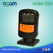 China made high quality bluetooth qr code scanner with stand (OCBS-T201)