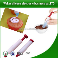 LFGB standard cooking tools silicone cake decorating pen,silicone fondant cake tools chocolate pen cake decoration tools