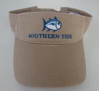 washed chino cotton fabric fish embroidery sun visor caps