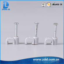 Flat Plastic Cable Clip From China Zhejiang yueqing