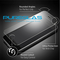 Ultra Slim 9H Hardness Tempered Glass Screen Protector for Apple iPhone 5 Mobile Phone,hot new products for 2015