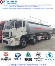 dongfeng 35000~40000 liter aluminum steel oil tank truck,aluminum steel mobile fuel tank truck, aluminum steel oil tanker