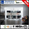 High gloss vinyl wrap doors kitchen cabinets