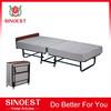 Cheap sponge mattress bed hotel Metal Folding Cot