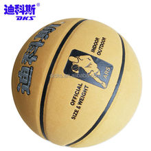 Popular Indoor Cow Leather Basketball With Customized Logo