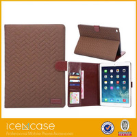 new fashion tartan design pad case tablet smart case for ipad air2