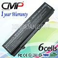 Cmp 6 celular de la batería portátil para dell latitude e5400 e5500 312-0762 serie