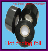 Using to Print Batch Number FC3 30mm*122m Date Coding Foil Stamping Foil