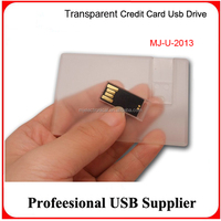 Professional Custom USB Credit Card Flash Drives 2gb/4gb/8gb/16gb For Business or ad Gift Wholesale