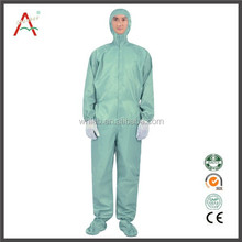 65 polyester 35 cotton antistatic fabric working coverall