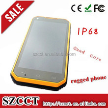 5.0 inch Rugged nfc pda Smart phone with Duad Core IP68 MTK6582