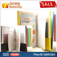 Jurong Manufacturing paper accordion file folder,Assorted colors