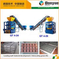 feuille de brick faisant la machine qt4-24 dongyue machinery group