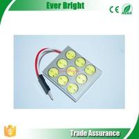 Best price and good quality car high power 9*1W festoon led light, auto led festoon 9W lamp, auto led festoon bulb