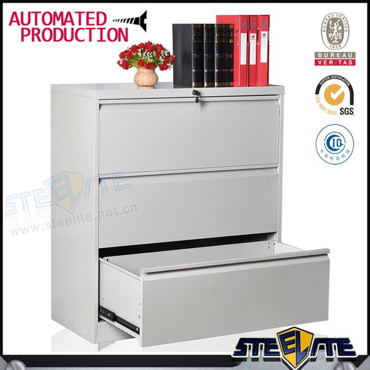 Luoyang usine prix en acier mobilier de bureau classeur latral 3