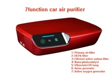r Nature Air Cleaner Best Quality Car Purifier With Charger Car air purifier car 7 in 1