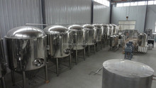 2015 Micro beer brewery plant equipment Annual capacity of 2000HL-10000HL