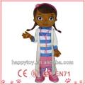 Hi ce personalizado de alta calidad para adultos doc mcstuffins traje de la mascota, utilizado trajes mascota para la venta
