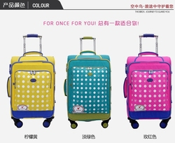 China cheap duffle bag luggage/super light kids suitcase/promotional travel trolley luggage bag