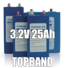 25Ah lithium battery cells for making different lifepo4 battery packs(Model number:TB-027070180D-Fe-25Ah )